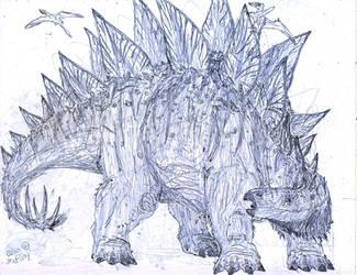 Stegosaurus by MickeyRayRex
