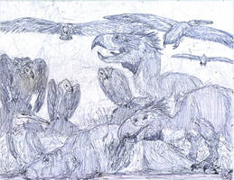 Dinosaurs of the Miocene by MickeyRayRex