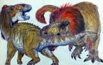 Tyrannosaurus Vs Edmontosaurus