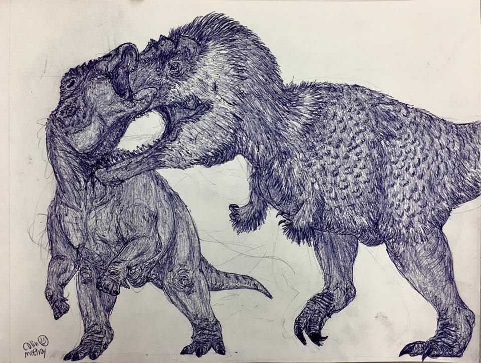 Zhuchengtyrannus vs Shantungosaurus by MickeyRayRex on ...