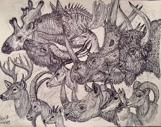 Horns by MickeyRayRex