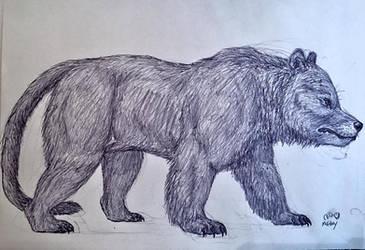 Bear Dog by MickeyRayRex