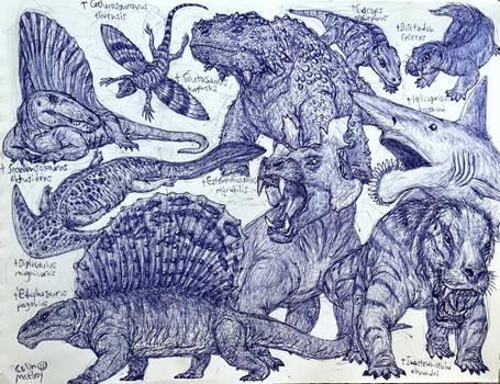Permian Animals
