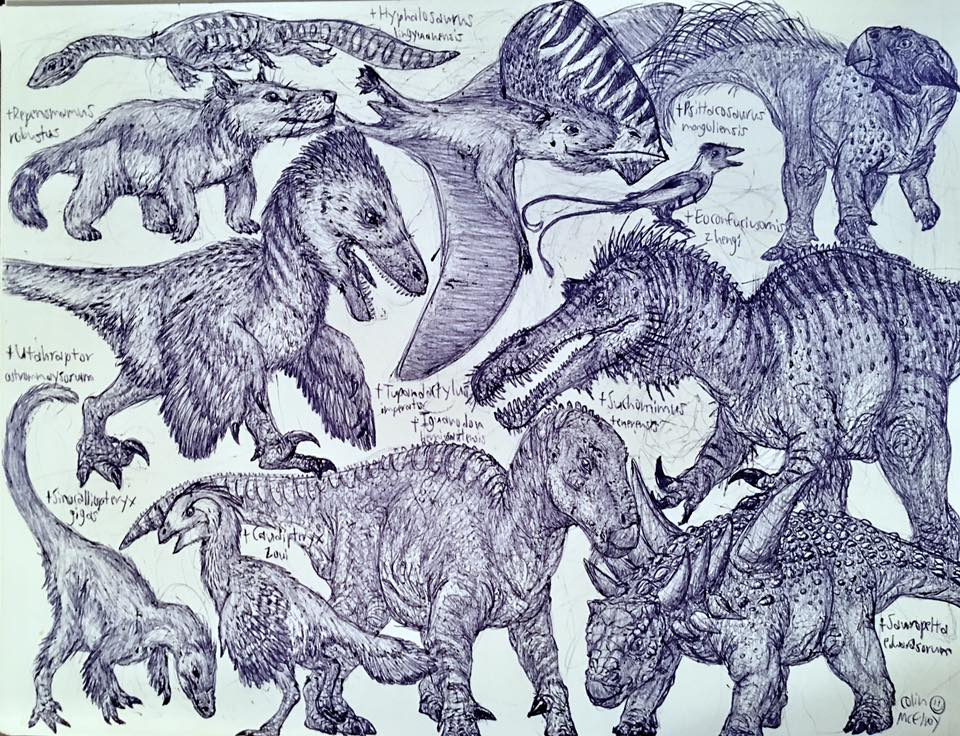 Early Cretaceous Animals by MickeyRayRex