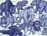 Pleistocene Animals