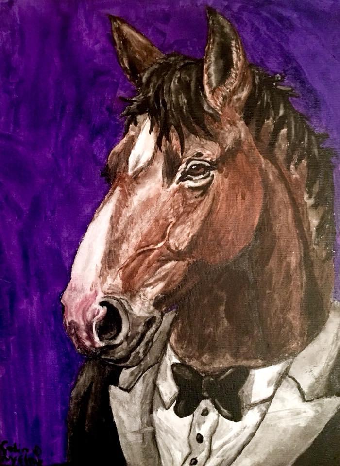 Bojack Horseman by MickeyRayRex