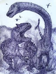 Barosaurus Chase