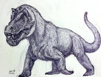 Anteosaurus by MickeyRayRex