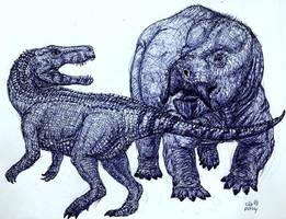 Poland's Triassic Dragons by MickeyRayRex