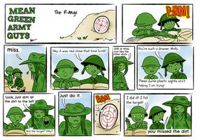 Mean Green Army Guys: The Range