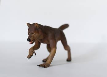 Brown werewolf by zersetzen
