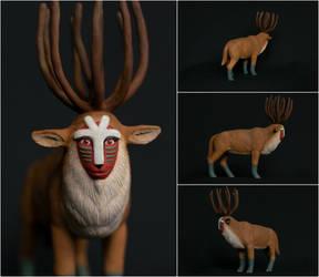 Forest Spirit figurine by zersetzen