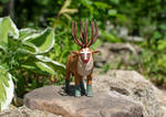 Forest Spirit - Princess Mononoke by zersetzen