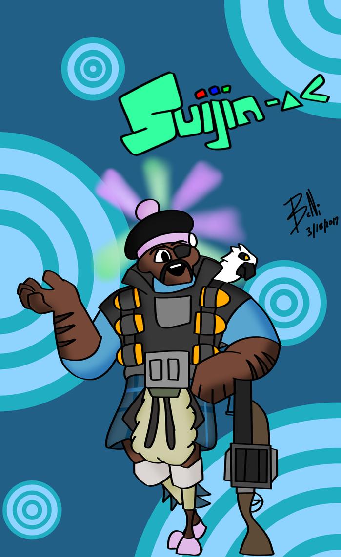My cartoon demoman by suijingames