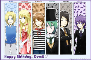 Happy Birthday, Demi :D by Sacchii