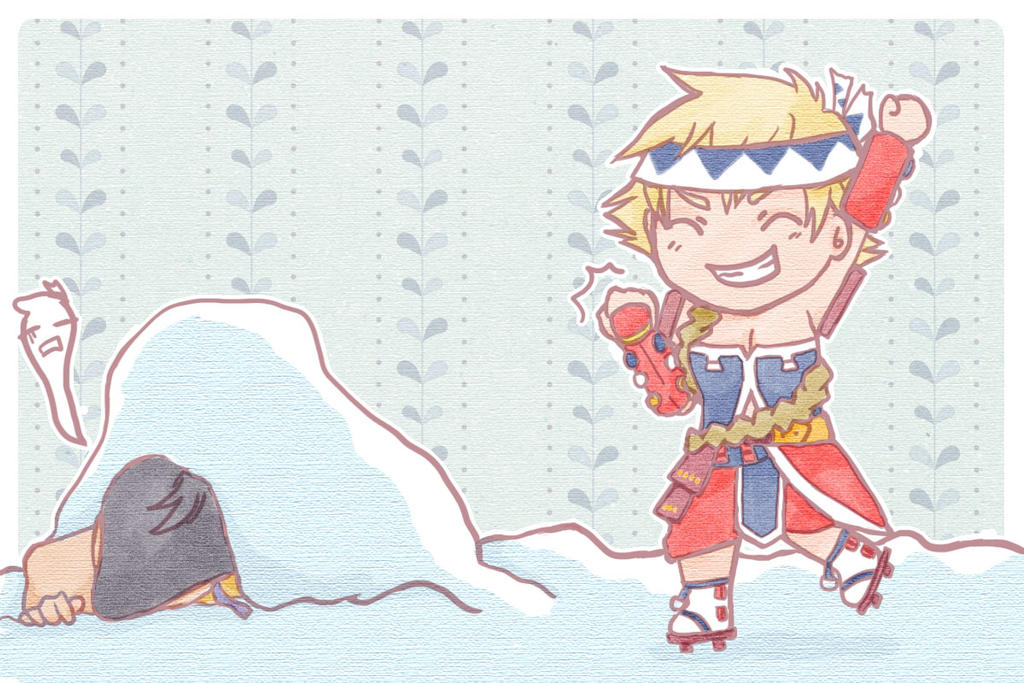KOEI Warriors Secret Santa 2014 by Sacchii