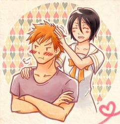 Com: IchiRuki by Sacchii