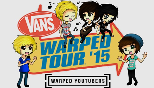Vans warpped tour youtuber takeover by my-digital-escape