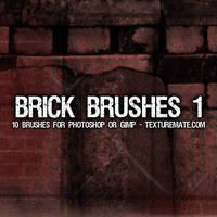 Free Brick Brushes by AscendedArts