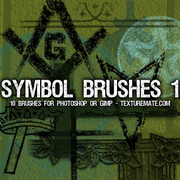 Symbol Brush Pack by AscendedArts