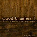 Wood Brushes 1