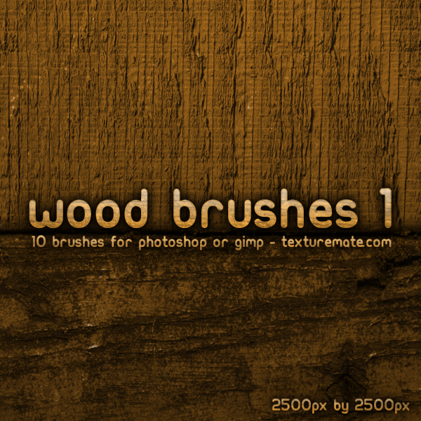 10 Wood Brushes