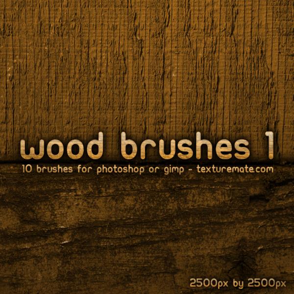 10 Wood Brushes