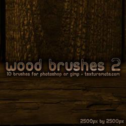 Wood Brushes 2 by AscendedArts