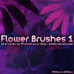 Flower Brushes 1