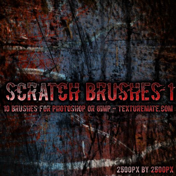 Scratches 1 Brush Set by AscendedArts