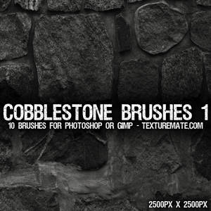 Cobblestone Brushes 1