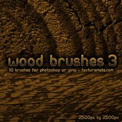 Wood Brushes 3 by AscendedArts
