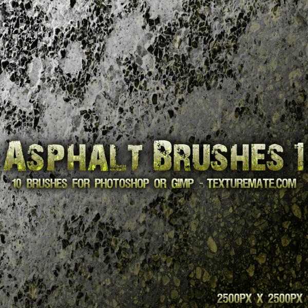Asphalt 1 Brushes by AscendedArts
