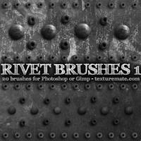 Rivets 1 Brushes by AscendedArts