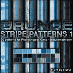 Grunge Stripe Patterns 1