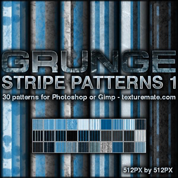 Grunge Stripe Patterns 1