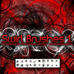 Swirl Brushes 1 by AscendedArts