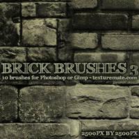 Brick Brushes 3 by AscendedArts