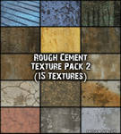 Rough Cement 2 Texture Pack
