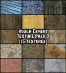 Rough Cement 2 Texture Pack