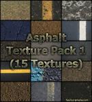 Asphalt 1 Texture Pack