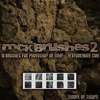 Rock Brushes 2 by AscendedArts