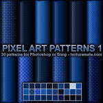 Pixel Art Patterns 1