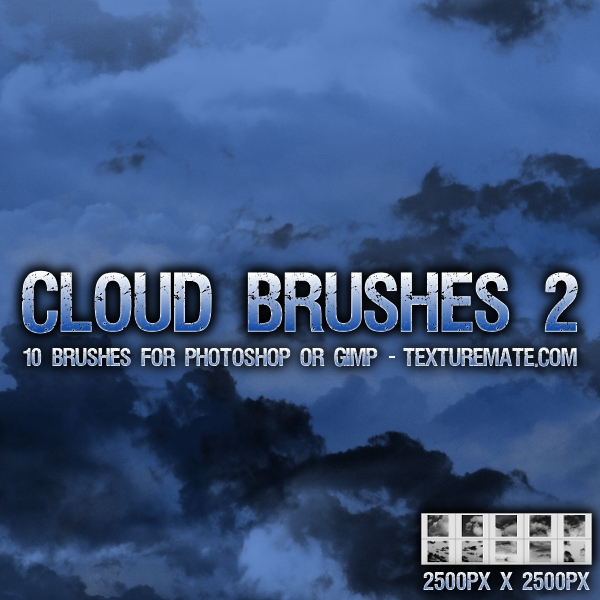 Cloud Brushes 2 by AscendedArts
