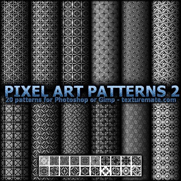 Pixel Art Patterns 2 by AscendedArts