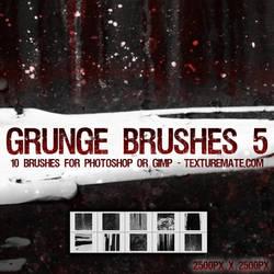 Grunge Brushes 5 by AscendedArts