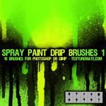 Spray Paint Drip Brushes 1