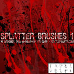 Splatter Brushes 1