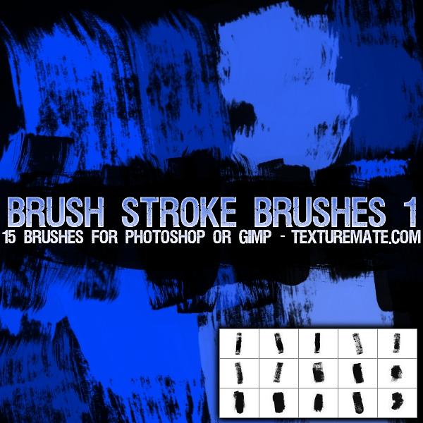 Brush Strokes 1 Brushes