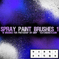 Spray Paint Brushes 1 by AscendedArts